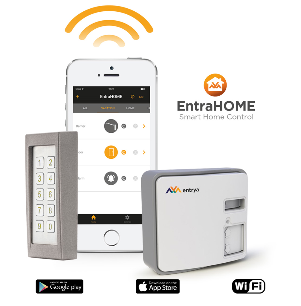 EntraHOME kit with Cifero keypad